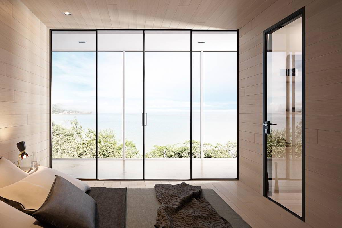 modoni porte interne in vetro