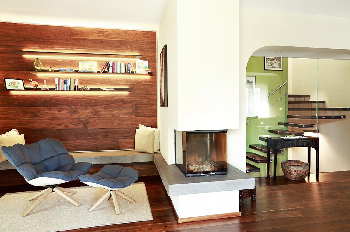 Progettazione Parquet e Scale Villa Melide 04